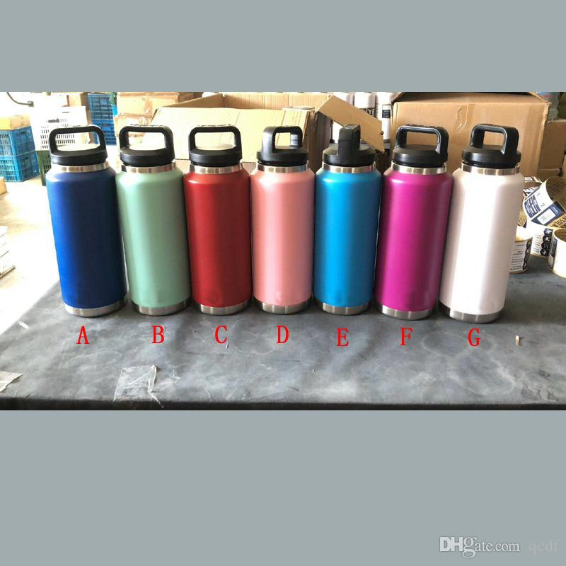 36oz Stainless Steel Water Bottles Double Vacuum Insulation Car Cup