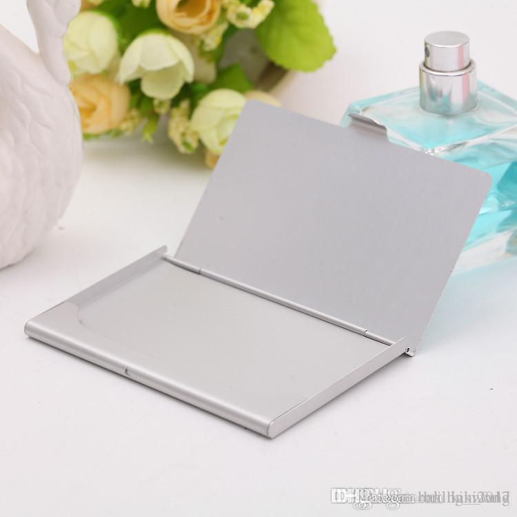 2019 Business Name Credit Id Card Case Holder Aluminum Business Card