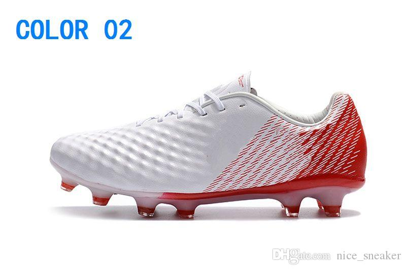 2018 Cheapest Low Magista Obra II ACC Soccer Shoes Neymar JR Phantom FG Soccer Cleats Youth Mens Football Shoes Footbal Boots
