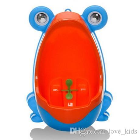 Enfants muraux bébé pot formation de toilette enfants urinoir garçon siège de toilette en plastique de haute qualité bébé soins groove produit enfants toilettes + b