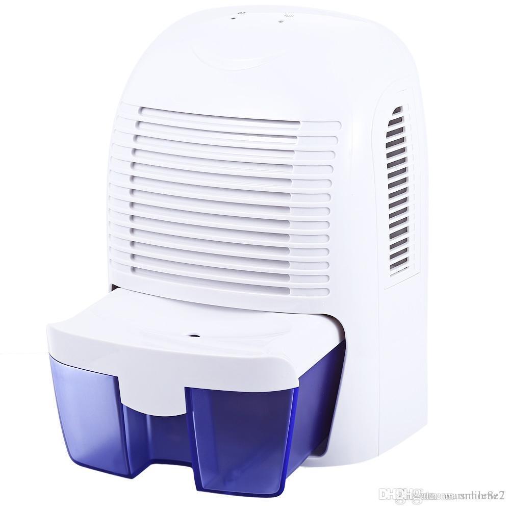 High Quality Portable 1500ml Dehumidifier Household Moisture Absorbing Air Dehumidifier  For Bedroom Bathroom Quiet Air Drye TB Air Conditioning Appliances Xrow    800A ...