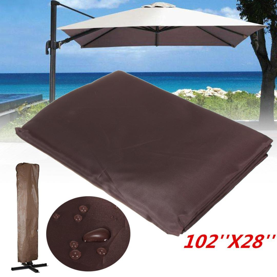 Merveilleux Garden Patio Umbrella Rain Cover Waterproof Polyester Canopy Protective  Cover Bag Outdoor Rain Gear Accessories Fit 9 11ft Umbrella And Rain Boots  Childrens ...
