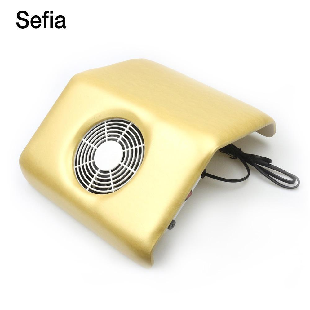Sefia Electric Nail Art Suction Manicure Tools Nail Dust Collector ...