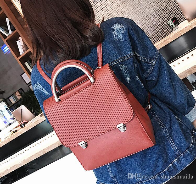 c0045f980e56 Ladies Fashion Casual Bag. Women S Bags. College Style. Leisure Bag. PU  Backpack. Handbag. Cross Body. Shoulder Bags.Totes. AD340 Swiss Gear  Backpack Osprey ...
