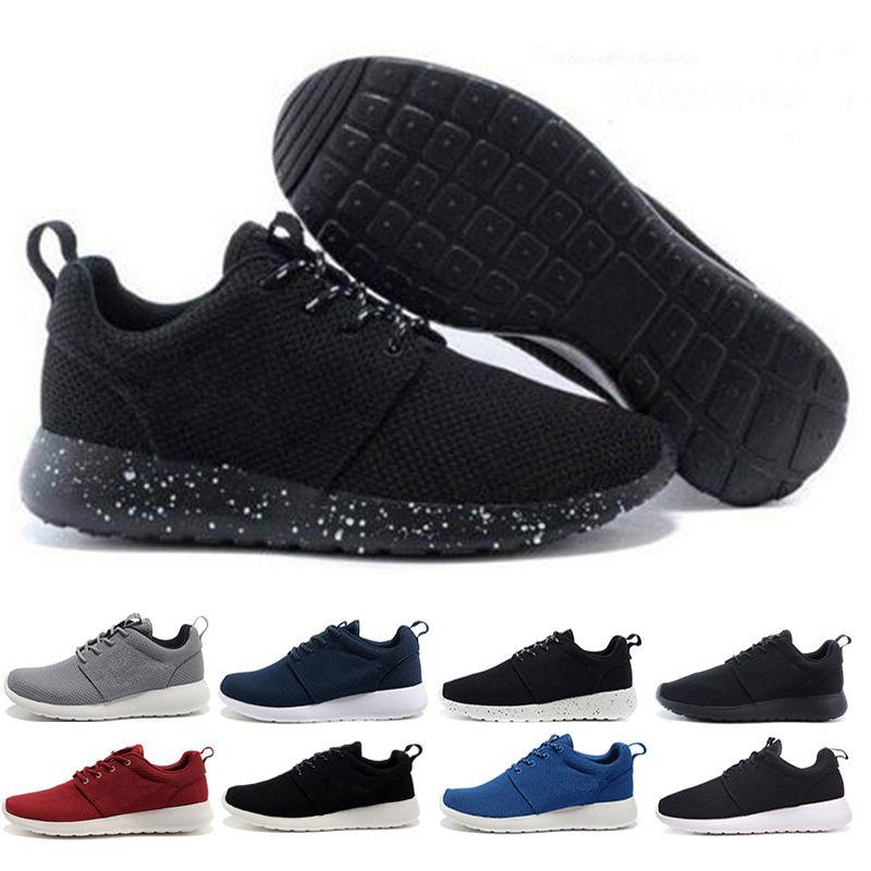 check out cb484 b6222 Acquista Nike Roshe Run One Running Shoes Da Corsa Classiche Tanjun Uomo  Bianco Nero Scarpe Da Corsa Da Donna London Olympic Runs Outdoor Uomo  Sportivo ...