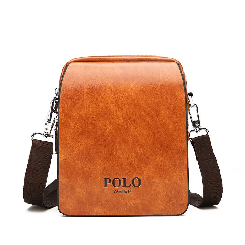 066f16b11b75 New POLO Men Crossbody Bag Luxury Handbag Pocket Money For Men  Multifunction Oblique Span Casual Shoulder Bag Small Square Hobo Bags  Designer Bags From ...