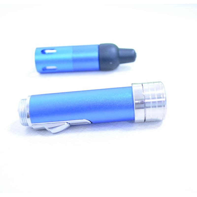 High-quality incense burner lighter combo Hand sneak a vape vaporizer incense burner click n vape smoking metal pipe neak a toke gas lighter