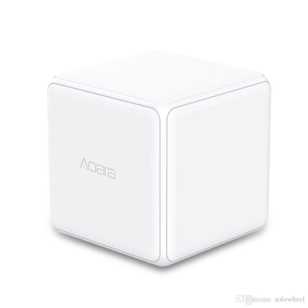 2018 Original Xiaomi Aqara Magic Cube Remote Controller Sensor Six Bluetooth Speaker Actions Work With Gateway For Smart Home Kits From Solowheel 2312