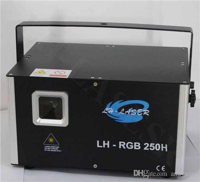 3.5w RGB laser lighting animation scanner projector DMX Stage DJ Dance Show bar disco Party Light system