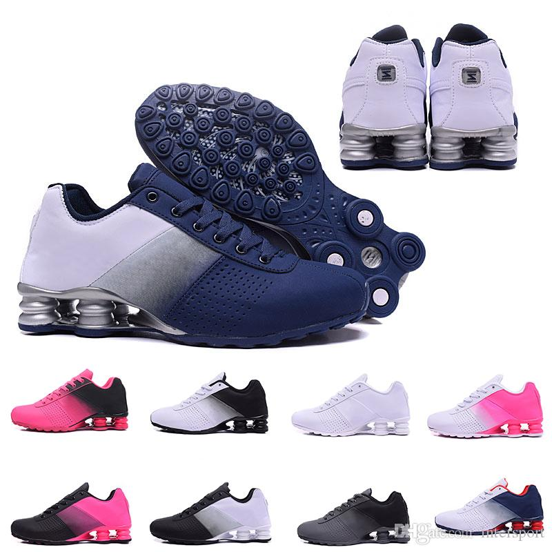 reputable site a090c ed9aa New Shox Deliver 809 Men Air Running Shoes Drop Shipping Wholesale Famous  DELIVER OZ NZ Mens Athletic Sneakers Sports Running Shoes 40 46 Running  Store ...