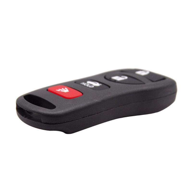 Estuche de reemplazo de alta calidad para el nuevo Nissan 3 + 1 botón para Nissan Sentra Remote Key en blanco Shell Fob Cover