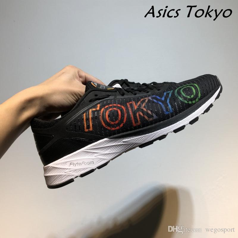 size 40 4eaa0 426c2 Asics DynaFlyte 2 Tokyo Limited edition Originals New Arrivals Mens  Shockproof Wear-resistant Running Shoes Sport Sneakers Size 40.5-45