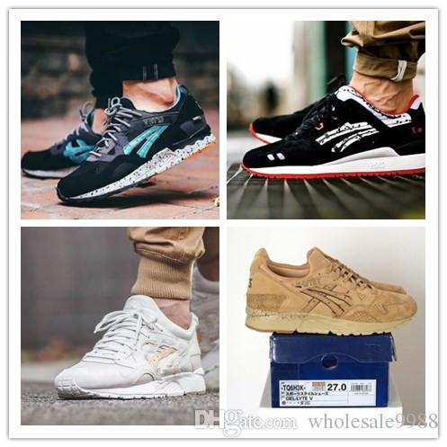 2018 Top Quality Hot Sale New Gel Lyte V Running Shoes Men Women ... 92f48172d6