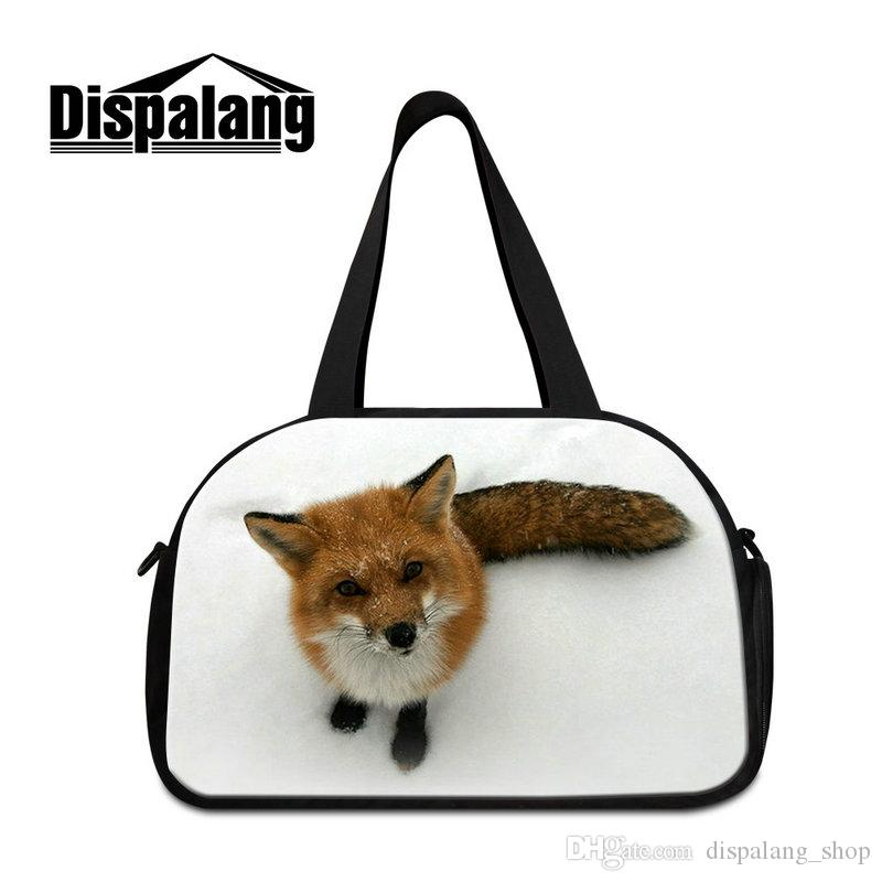 GYM Duffle Travel Bag Canvas Weekends Bags Luggage Packing ... 1fe1b3de2a2fa