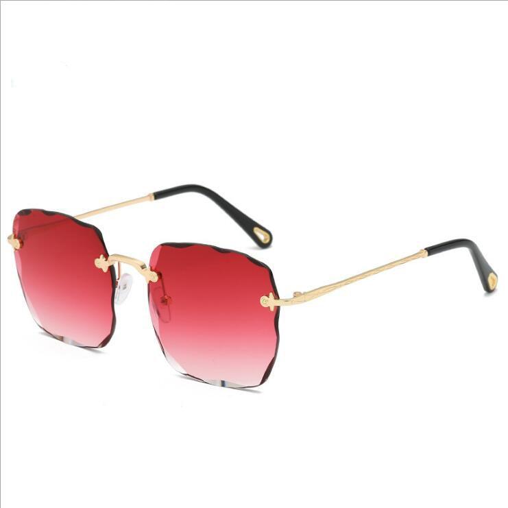 68d471679b Oversized New Sunglasses Women Large Size Diamond Cut Side Vintage Sun  Glasses Female Brand Fashion Fine Work Eyewear Oversized Sunglasses Best  Sunglasses ...