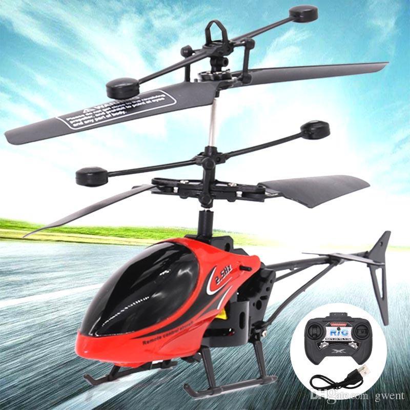 Acheter 2 Canaux Hélicoptère Anti Choc Intérieur Mini Hélicoptère Rc ...