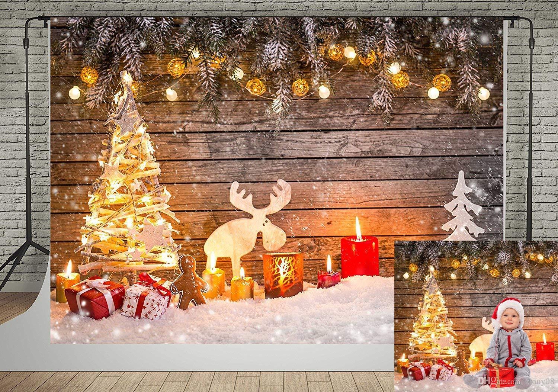 Alberi Di Natale In Legno Da Appendere : Gisela graham set di ragazzo ragazza fata su cavallo a dondolo