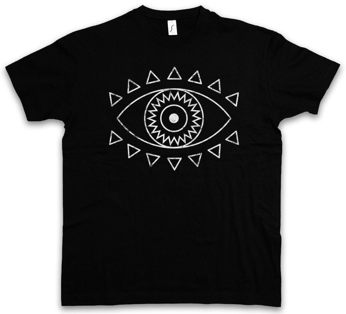 Grosshandel Indisches Augen T Shirt Symbol Religion Hindu Hinduismus
