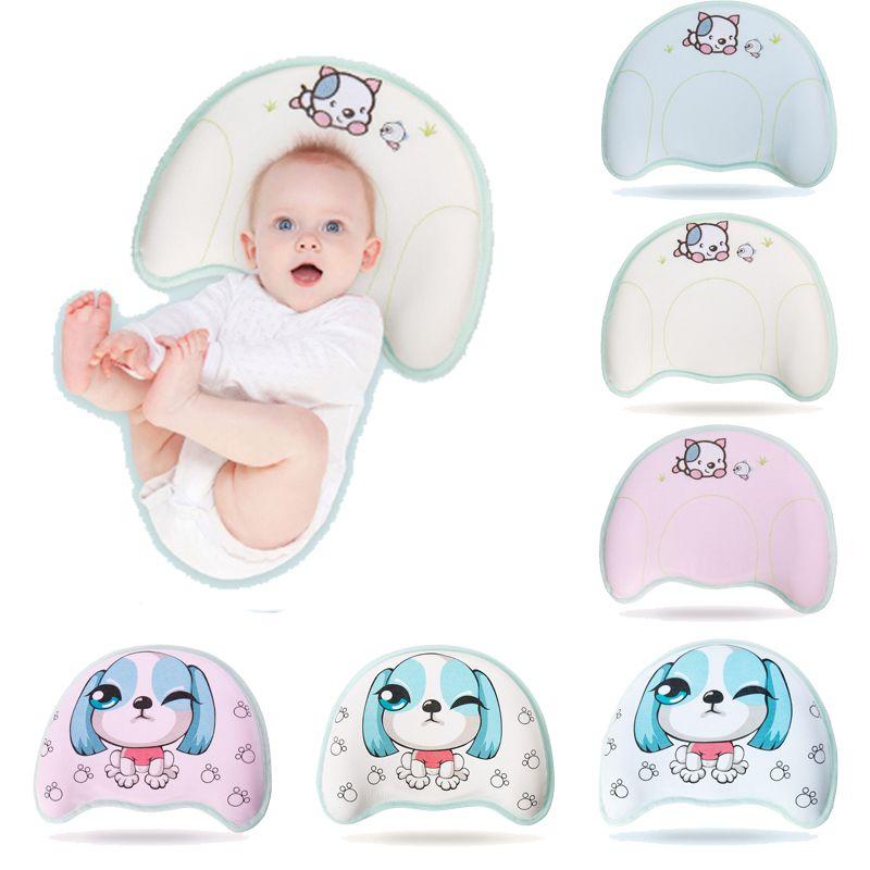 5833fdadc7c3 New Toddler Baby Pillow Infant Newborn Sleep Positioner Anti Roll Cushion  Flat Head Neck Pillow Cushion Protection Newborn Decorative Pillows Sale  Toddler ...