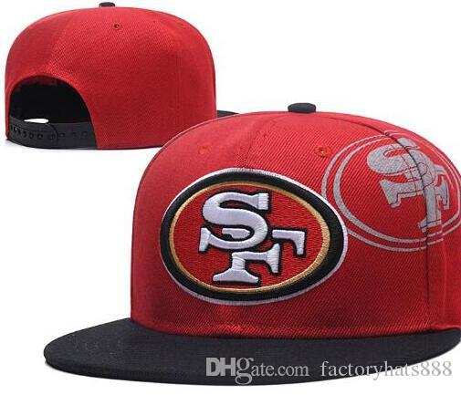 Free Cheap Sf >> Free Shipping Cheap San Francisco Snapback Sf Hat Baseball Cap Strapback Ball Flat Brim Hat Team Size Baseball Cap Classic Fashion 01