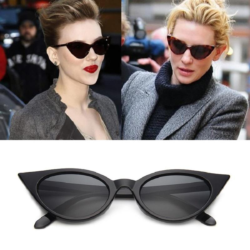 85f5c0c878 2018 New Fashion Cat Eye Sunglasses For Women Brand Designer Vintage Sunglasses  Cateye Mirror Glasses Zonnebril Dames Goggles Dragon Sunglasses Vintage ...