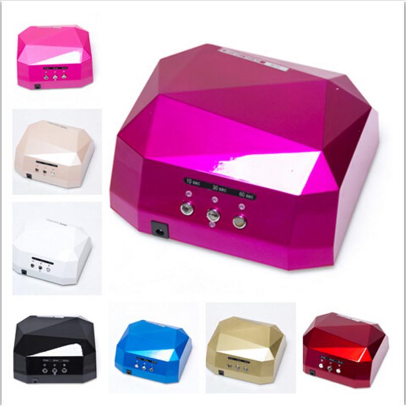 Best Hot Sale!!! Led Uv Lamp 36 W Gel Nail Machine Dry 110/220v ...
