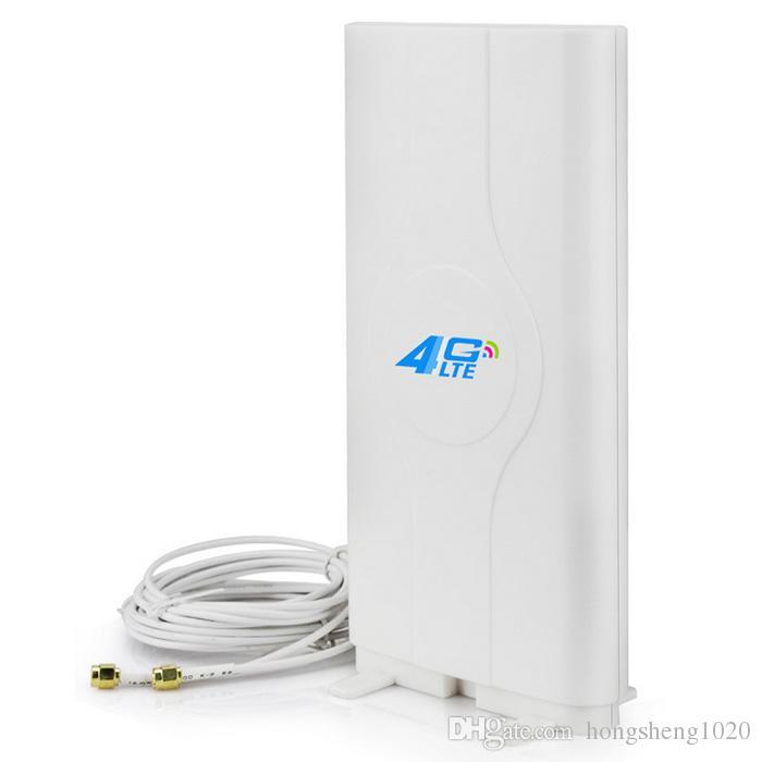 4G LTE MIMO Antenna 49dBi SMA Connector 4G Router B315 B890 B310 B593 B970  B97B B683 Network Card Antenna Free Shipping