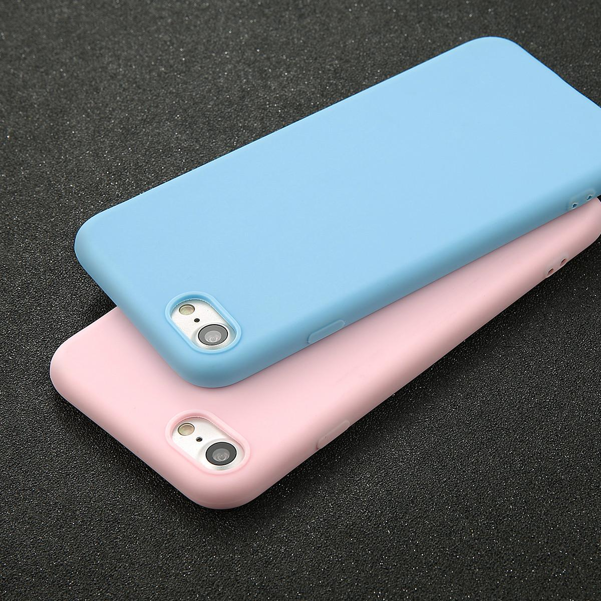 phone case for iphone 7 6 6s 8 x plus 5 5s se simple solid colorphone case for iphone 7 6 6s 8 x plus 5 5s se simple solid color ultrathin soft tpu cases fashion candy color back cover customized phone cases cute phone