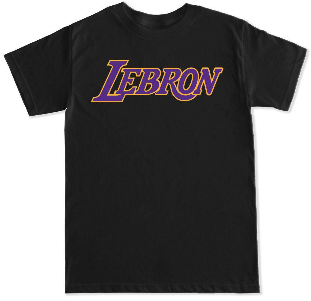 new arrivals 819f4 093c1 Los Angeles Lebron James KING James Basketball Jersey team LA Mens T Shirt  Unisex Funny free shipping gift Casual tee