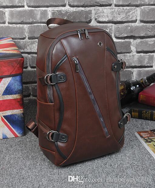 2e6dc7ed4794 Brand Bag Original Design Crazy Horse Leather Backpack. Crazy Horse ...