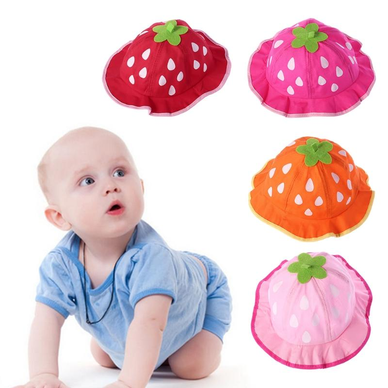 2019 2018 Baby Hat Bucket Cap Strawberry Summer Kids Boy Girl Sunhat  Children Outdoor Gift AUG8 32 From Buycenter 14fa9cbbdba2