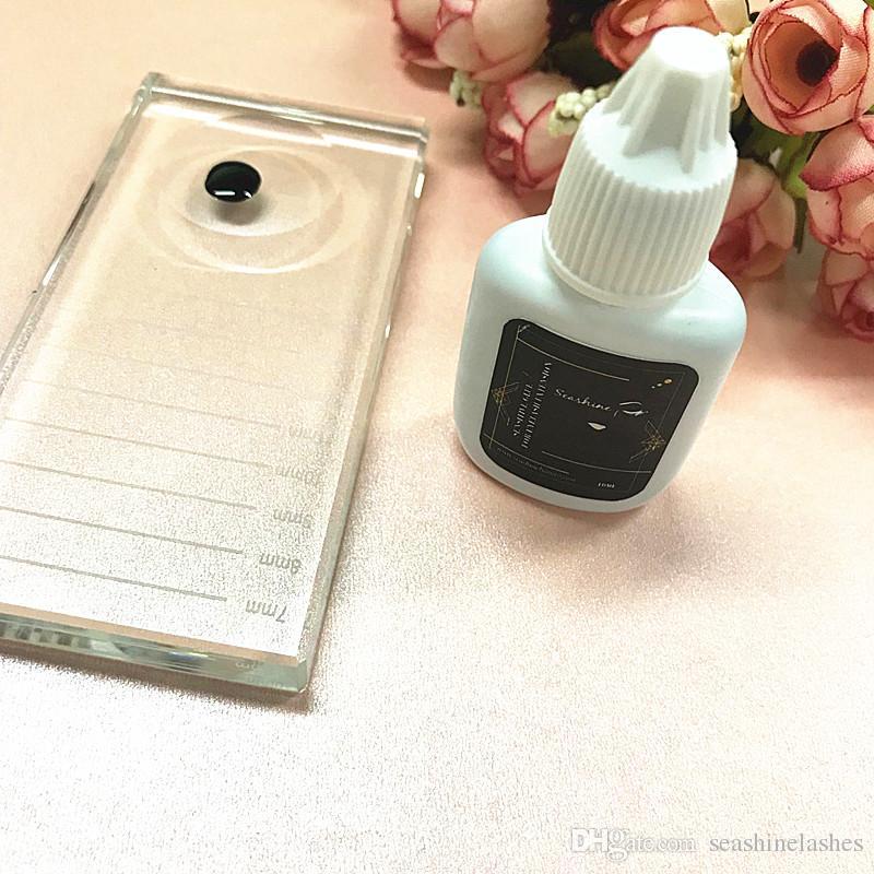 Seashine Sensitive Las pestañas individuales pegan las herramientas de maquillaje humos fuertes para 10mL Pro Eyelash Glue Extension Glue for Lashes envío gratis