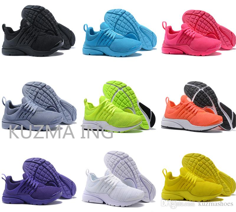 half off fe070 58817 Best Quality Prestos 5 V Running Shoes Men Women 2018 Presto Ultra BR QS  Yellow Pink Black Oreo Outdoor Sports Fashion Jogging Sneakers Cheap Shoes  Men ...