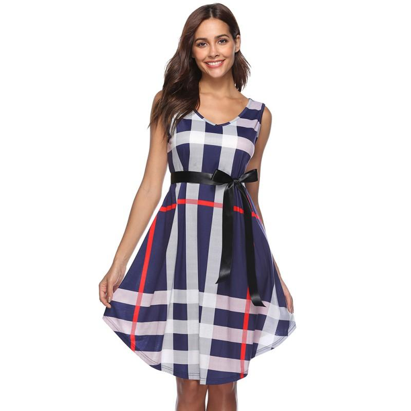 Tartan Cocktail Dress