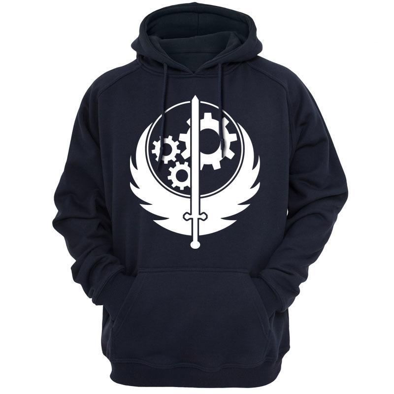 Felpe Uomo Logo Of Casual Acquista Brotherhood Abbigliamento Steel gO04wp