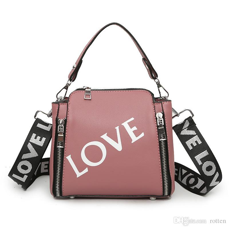 bd00fe8d96 2018 New Fashion Woman Shoulder Bags Famous Brand Luxury Handbags ...
