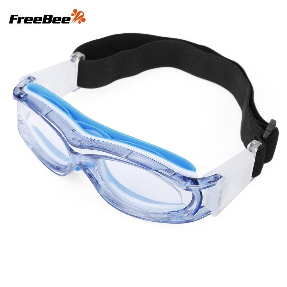 9efb5bd1ec 2019 FreeBee Children Anti Fog Basketball Glasses Eyewear With Adjustment  Strap For Volleyball Hockey Rugby Soccer Sports Goggles From Qingbale