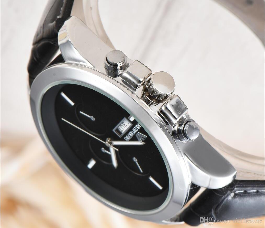 80253841688 Compre 2018 Relógio De Pulso Da Forma Dos Homens Relógios Top Marca De Luxo  Famoso Relógio De Quartzo Negócio Para Relógio Masculino Relógio De Pulso  ...