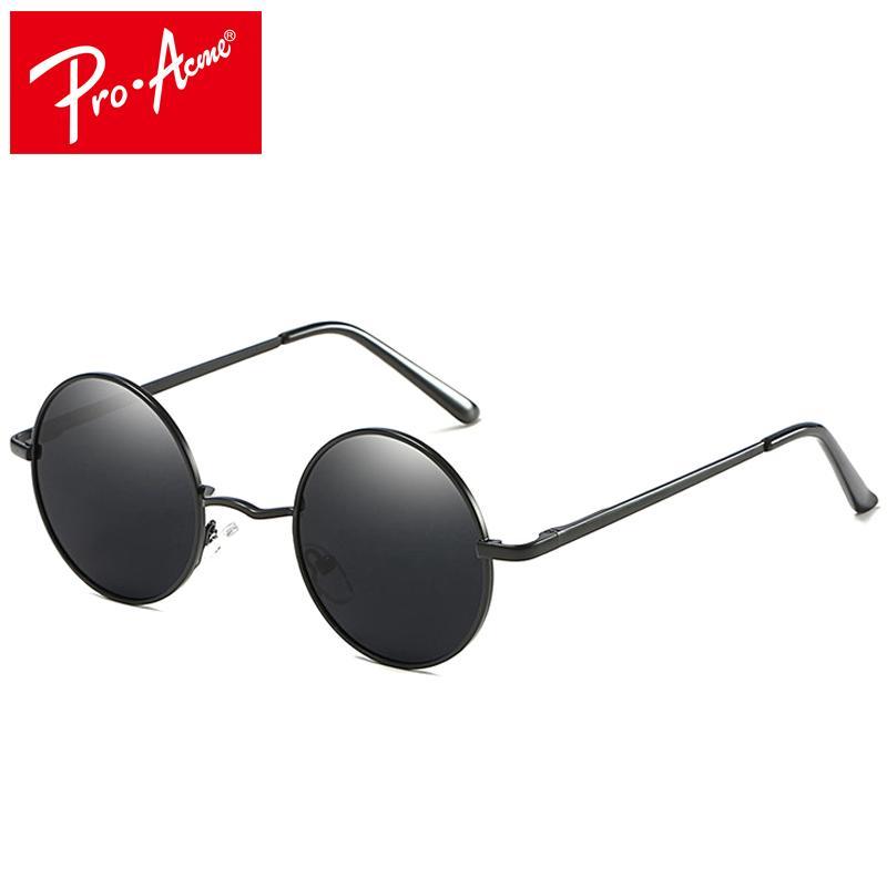 7d25864989 Pro Acme Premium Classic Fashion Polarized Round Sunglasses Men Women  Vintage Retro Mirror Coating Sun Glasses CC0877 Foster Grant Sunglasses  Spitfire ...