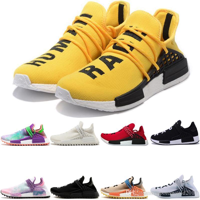 promo code 4469c c69f6 Adidas Originals Human Race Hu NMD Trail Envío Gratis Zapatillas Para  Hombres Mujeres Baratas Al Por Mayor HUMAN RACE Pálido Desnudo NERD Pasión  Descuento ...