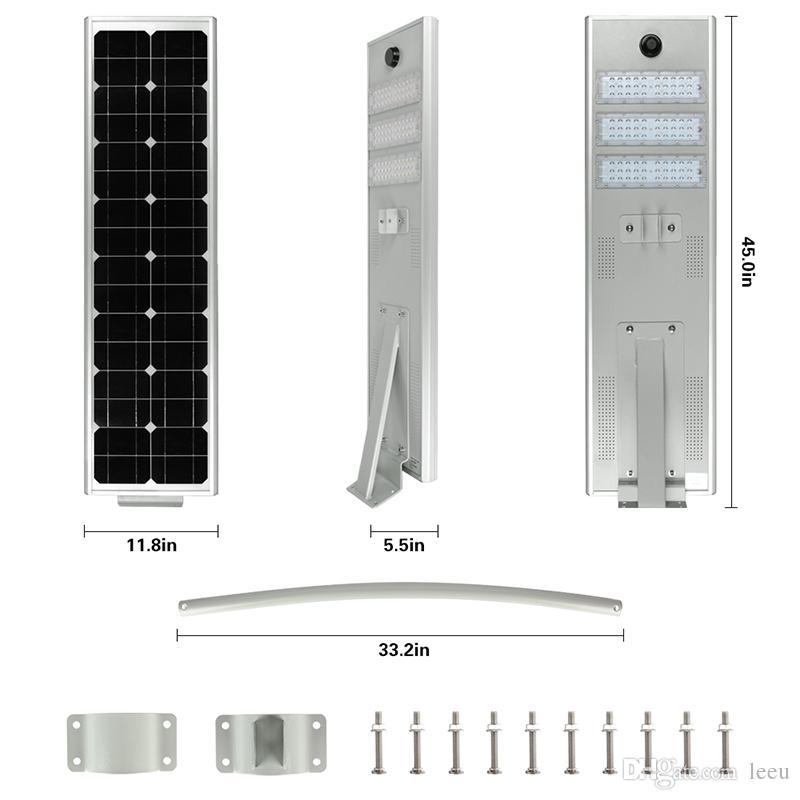 Solarlampe 10W 15W 20 Watt 30W 50W LED Straßenhelle Außenwandlampe Wasserdichte Spotlight Super Helle Solar LED Straßenleuchte