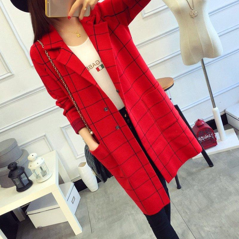 Cappotto invernale da donna di design di alta marca Cappotto imbottito di plaid caldo Inverno Moda Trench lungo Capispalla femminile Giacca invernale i W1