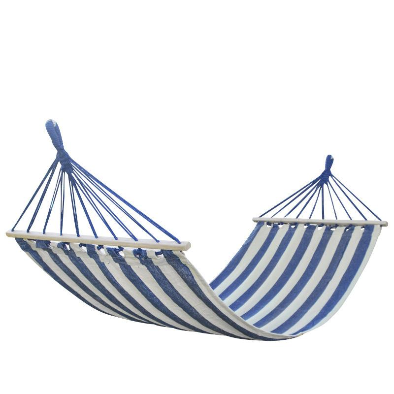 2019 Portable Camping Garden Beach Travel Hammock Outdoor Ultralight  Colorful Casual Swing Bed Rollover Proof Canvas Stick Hammock From Rudelf,  ...