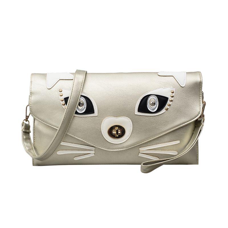 b13c0d1e9 Nightclubs Clutches Women Leather Envelope Wallet Clutch Bag Korea ...