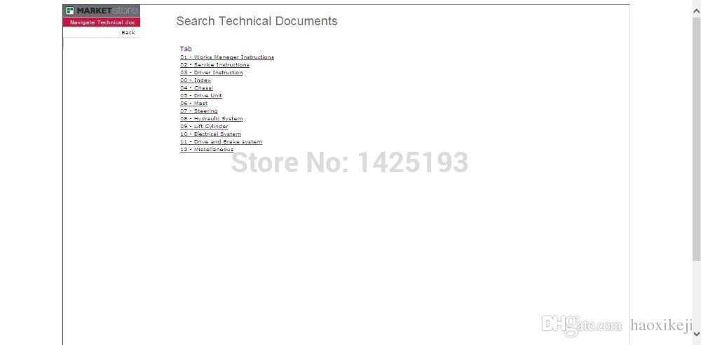 Atlet AB - nissan Forklift Parts Catalog