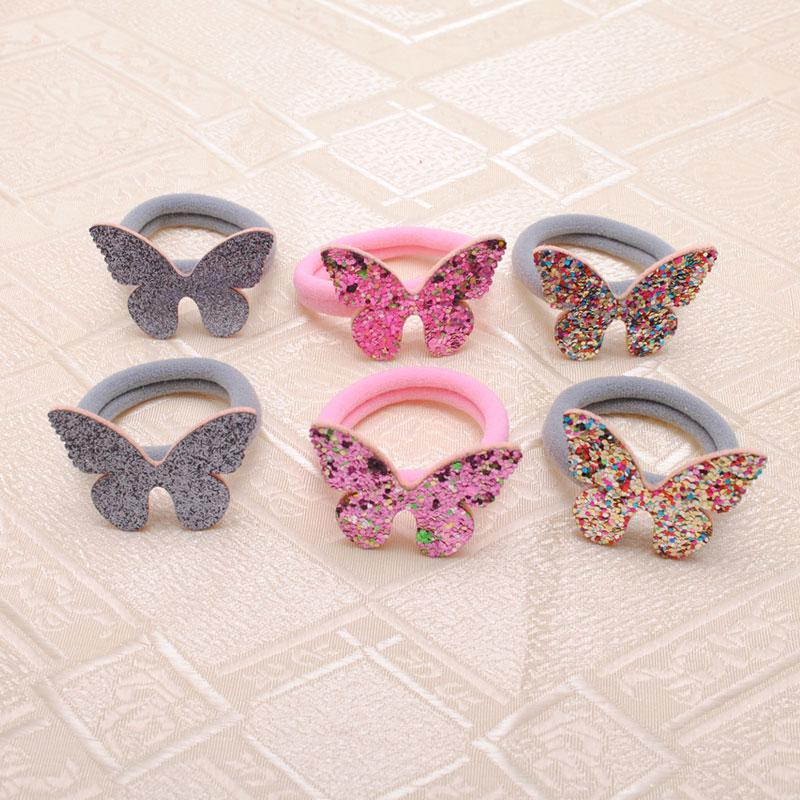 Hair Accessories For Girls Elastic Hair Gum Girls Gift Hair Ring For kids Rubber Band