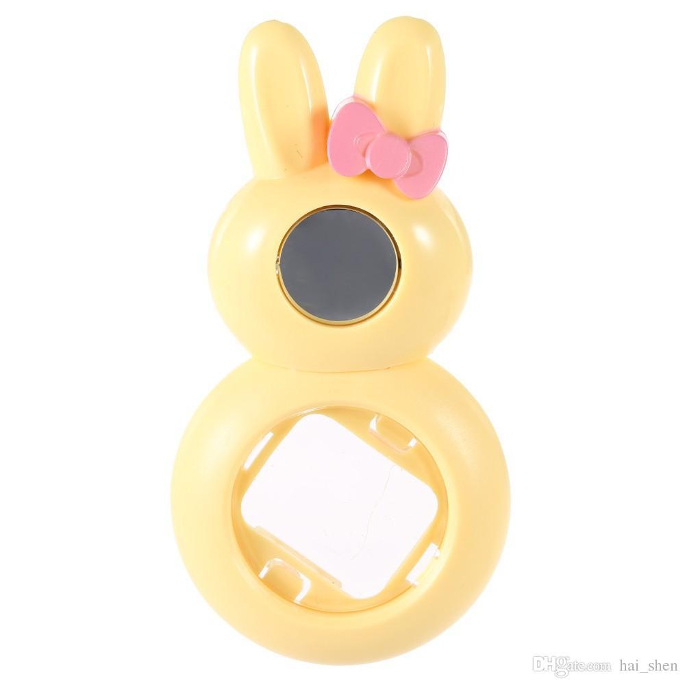 Мини-объектив в стиле кролика с зеркалом для автопортрета для Fujifilm Instax Mini 8, моментальная пленочная камера Mini 7S синий / красный / розовый / черный / белый
