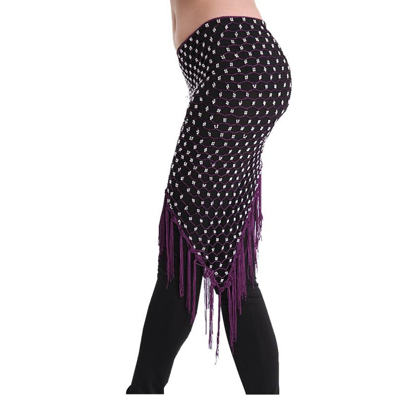 2018 Bellydance Hip Scarf Belly Dance Clothes Accessories Stretchy