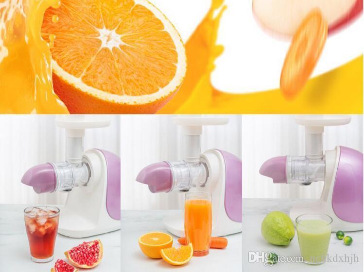 ÇinJoyoung ev Tek Dişli Masticating Sıkacağı makinesi Z5-E81 düşük hızlı suyu üreticisi 110-220-240 V