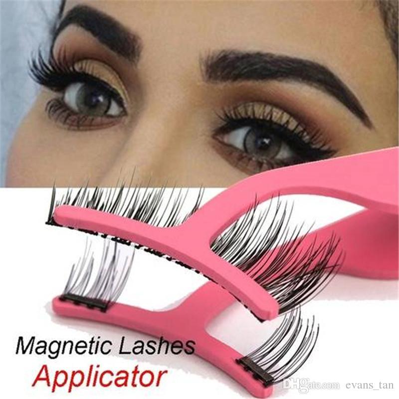 1pc Magnetic Eyelashes Extension Applicator Natural False Eyelashes Clip Bv008bk Bv008pk